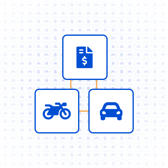 Cartas de crédito para automóveis e motocicletas